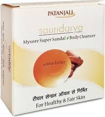 Patanjali Mysore Super Sandal Body Cleanser 75GM X 3PACK