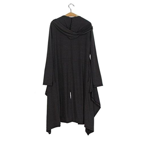 Outwear Cardigan irregular de la de larga de de estilo mujeres flojo las RETUROM moda chaqueta manga la nuevo la capa gPw6q6