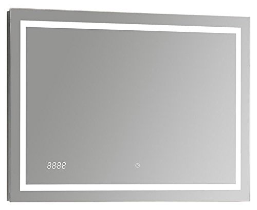 "SUNNY SHOWER Backlit Led Bathroom Vanity Sink Silvered 4mm Mirror With Touch Button, 48"" H X 24"" W by SUNNY SHOWER"
