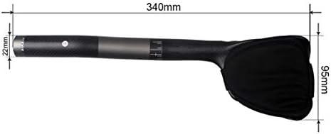 FELICIAAA バイクTTハンドルバーエアロバートライアスロンタイムトライアルトリサイクリング31.8mm自転車エアロバー、自転車バイクまたはロードバイク用の自転車レストハンドルバー (サイズ : 440mm)