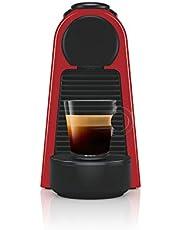 Nespresso Essenza Mini Coffee Maker, Ruby Red