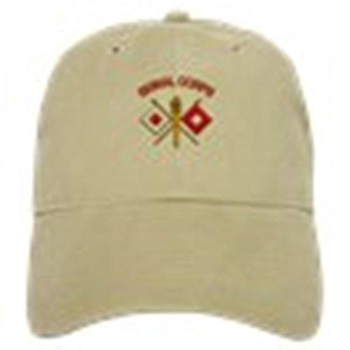 (CafePress - Signal Corps Cap - Baseball Cap with Adjustable Closure, Unique Printed Baseball Hat)