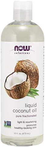 Now Foods Liquid Coconut Oil, 1.07 Pound