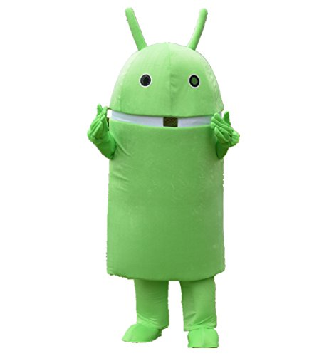 MascotShows Android Robot Mascot Costume Fancy Dress