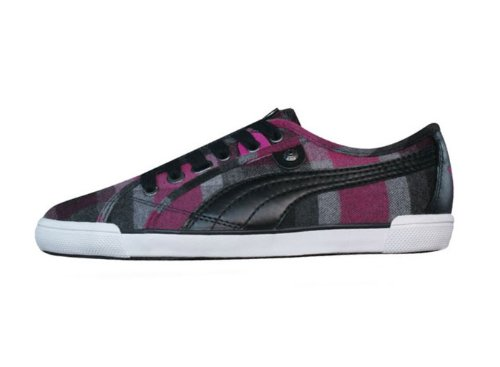 Puma Corsica Plaid Womens sneakers / Shoes – Black – SIZE US 6
