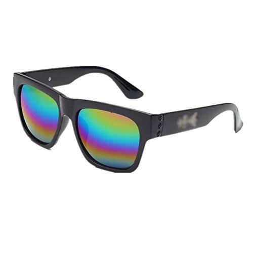 HUASHI Nameunisex-adult¡¯s Korea Retro Sunglasses Color C6