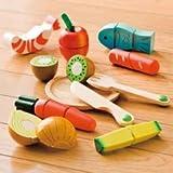 エド・インター 木製玩具 木のおもちゃ ままごと! だいすきセット 811061 対象年齢;3歳から