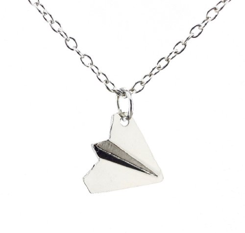 Fun Daisy Harry Styles Paper Airplane Necklace With Gift Box (Necklaces One Direction compare prices)