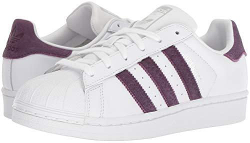 M Silver adidas US Sneaker Superstar Women's White 5 red Originals Night 5 Metallic q1RqH0Pnw