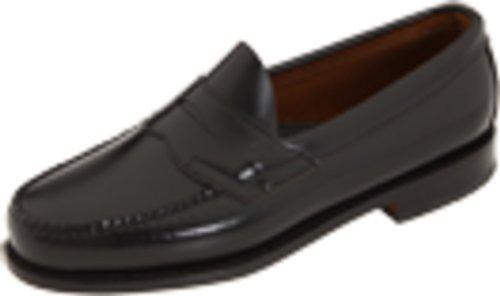 G.H. Bass & Co. Men's Logan Flat Panel Loafer,Black,13 US D