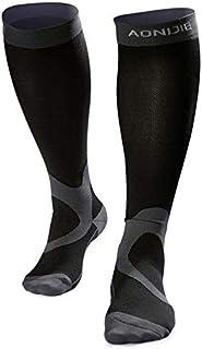 fghfhfgjdfj AONIJIE Compression Socks for Men Women Athletic Performance Stockings for Sports Marathon Running Recevory Varicose Veins