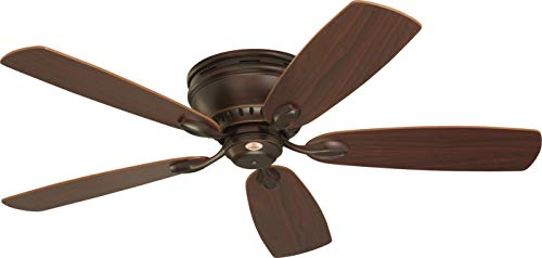 Emerson CF905VNB Prima Snugger 52' Ceiling Fan with Wall Control, Venetian Bronze