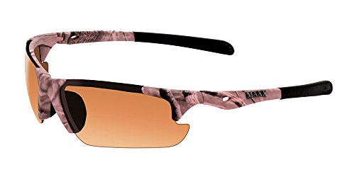 Maxx Sunglasses Storm Pink Camouflage Frame HD Amber - Camo Pink Glasses Frames