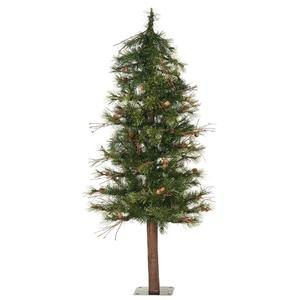 Vickerman Mixed Country Alpine, 48-Inch, (Pine Tree Natural Trunk)