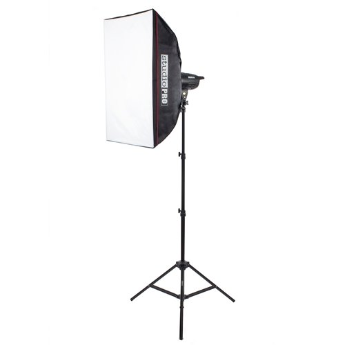 Fovitec StudioPRO Single 100W/s Monolight Photography Photo Studio Strobe Flash Softbox Kit ()
