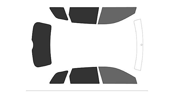 Variance Auto Tinted Films for Car Complete Kit Front Black 35 Back Black 05