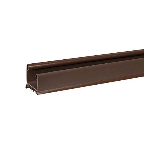 Duck Brand 284432 Slide On Triple Draft Door Seal Brown