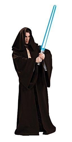 Super Deluxe Jedi Robe Costume - Standard - Chest Size 46 (Dark Jedi Costume)