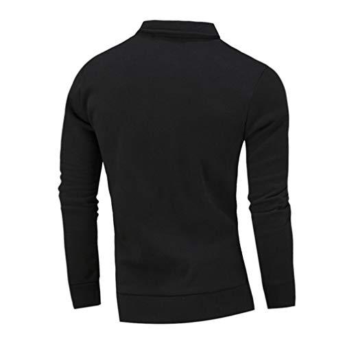 Homme Hommes Hauts Hiver Veste Cher Manteau Automne Outwear Pas Aimee7 Casual Noir 0YqEAwxT