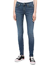 Calvin Klein Women's Mid Rise Super Skinny Fit Jean