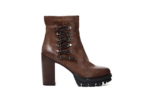 Cafè Noir LGD701225360 225 TABACCO 36 STIEFEL NABUK LACING SIDE DECOR