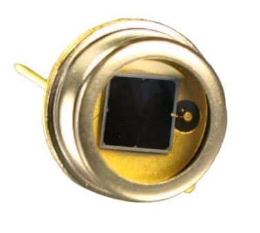 Photodiodes 7mm Squared PIN Detector Blue/Green (PS7-6B-TO5) by First Sensor (Image #1)