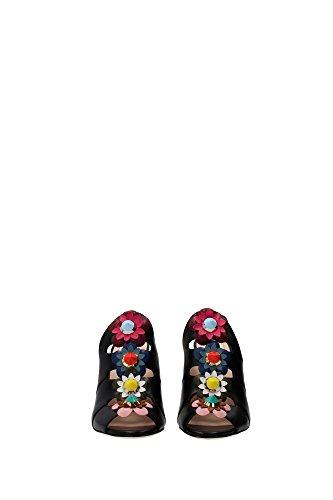 Women Sandals UK 8R60206VJF0BHU Black Fendi UxO4q5wx