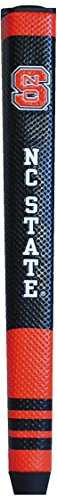 Team Golf NCAA NC State Wolfpack Golf Putter Grip with Removable Gel Top Ball Marker, Durable Wide Grip & Easy to Control