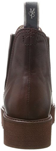 Marc Opolo Damen Flat Heel Chelsea 70814245001125 Boots Rot (bordo)