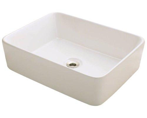 Bisque Porcelain Sink - 4