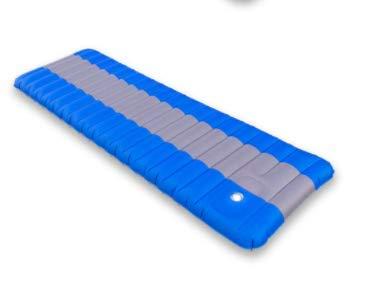 Bleu  DMMW Coussin Gonflable de pressage Coussin à air épais de Type Pied, imperméable à l'eau et à l'air extérieur, portable