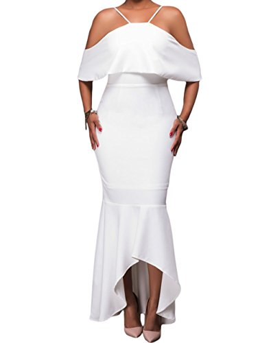 yeeatz-women-white-ruffled-sleeves-high-low-hem-off-shoulder-party-maxi-dress