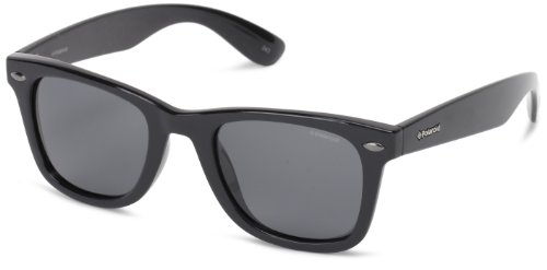Polaroid Sunglasses P8353S Polarized Wayfarer Sunglasses,Black,50 - Polariod Glasses