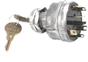 Athena Cdi Unit (Ski Doo Ignition Switch / Starter Switch Model TNT Everest 440 1976 / TNT FC (electric) 1975-1976 Snowmobile Part# 27-01561 OEM# 410-1009-00, 410-1026-00)