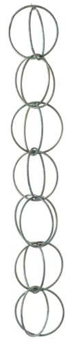 Good Directions 464V1-6 Double Link Rain Chain, Blue Verde Copper