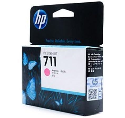 HP 711 - Cartucho de Tinta para impresoras (Magenta, 29 ml, HP Designjet T120, T520, 10-90%, -40-60 °C, 5-35 °C): Amazon.es: Oficina y papelería