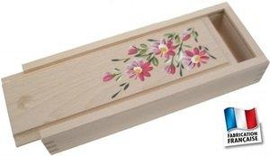 Joyero-Estuche de madera pintada a mano: Amazon.es: Hogar