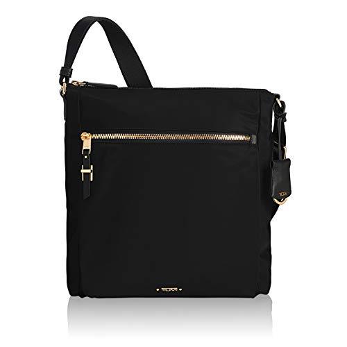 TUMI - Voyageur Canton Crossbody Bag - Over Shoulder Satchel for Women - Black (Tumi Voyageur Capri Crossbody Black One Size)
