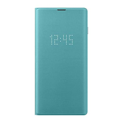 Samsung Official Original LED View Flip Cover Case for Galaxy S10e / S10 / S10+ (Plus) (Green, Galaxy S10)