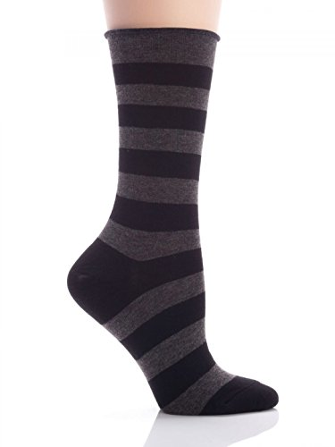(HUE Jeans Socks (Black)