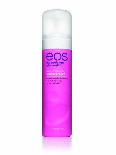 EOS Ultra Moisturizing Shave Cream, Pomegranate Raspberry, 7-Ounce Bottle (Pack of 3)