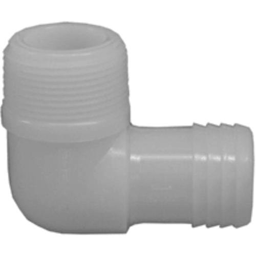 Genova Products 362807 Nylon Combination Elbow (I x M) Pipe Fitting, 3/4
