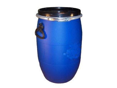 15 Gallon Barrel Drum w/ Lid and Ring - Rainwater - Food - Wine Making - Prepper - Storage - Portable