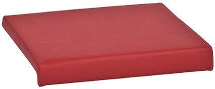 Cuir synth/étique beige 40x38x6 Silvio design coussin dassise-coussin 1 baguette en plusieurs couleurs