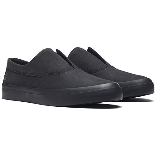 ねばねば調査手つかずの(ハフ) HUF DYLAN SLIP ON (SNEAKER)(VC00014-BK) シューズ 靴 スニーカー ディラン スリッポン 国内正規品