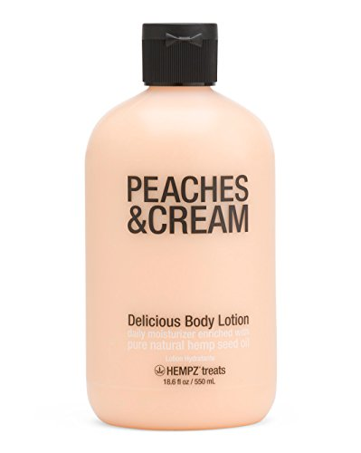Hempz Treats Body Lotion, 18.6 Oz (Peaches and Cream)