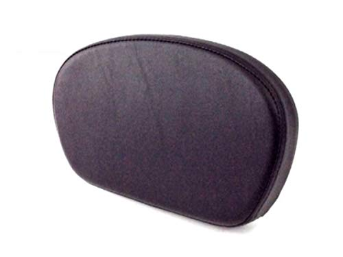(Small Smooth Short Sissy Bar Backrest Passenger Pad for 1994-2019 Harley Davidson Touring like Street Glide Road King ref 51579-05A)