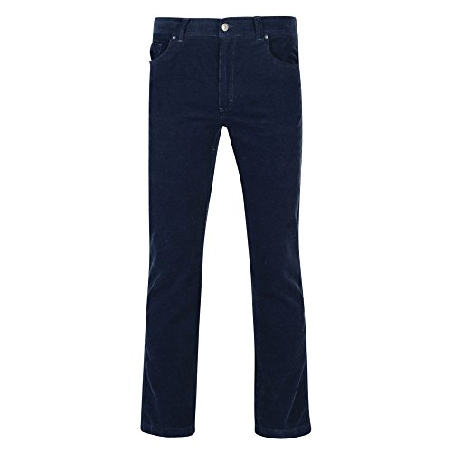 Regatta Mens Landford Corduroy Pants (34 US) (Navy)