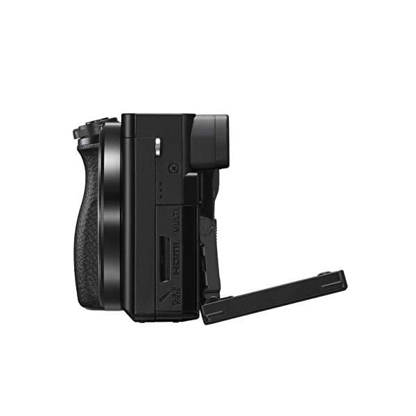 RetinaPix Sony Alpha a6100 Mirrorless Digital Camera (Body Only) Black 16- GB Card, Bag.