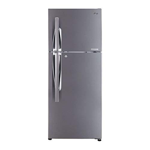 LG 260 L 2 Star Inverter Frost-Free Double-Door Refrigerator (GL-C292RPZY, Shiny Steel)